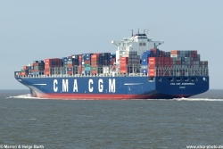 CMA CGM Andromeda - 02.07.2009, Cuxhaven